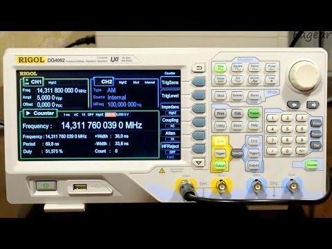 Обзор генератора сигналов Rigol DG4062 (DG4000)