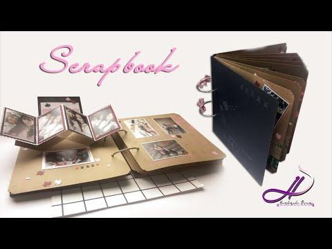 Hướng dẫn làm LOVE BOOK / SCRAPBOOK chi tiết | How to make Scrapbook | DIY | Handmade Dream(HN)