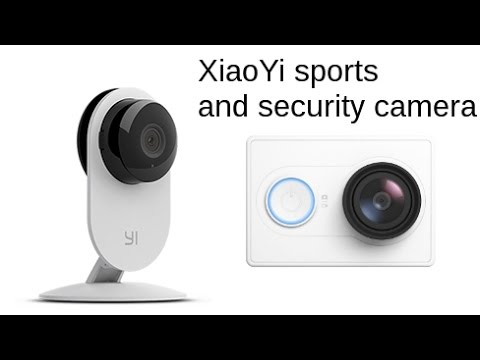 XiaoYi cameras with Sony Exmor R sensor, Ambarella A7LS