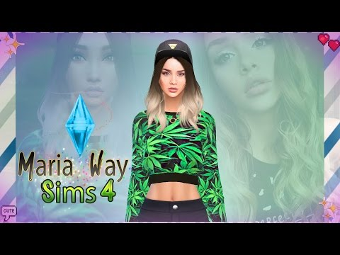 ✦ The Sims 4 ➲ Создание персонажа в The Sims 4 | MARIA WAY ✦