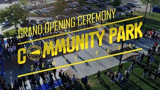 Gambar cover Moreno Valley's Grand Opening Ceremony Community Park Skate Park