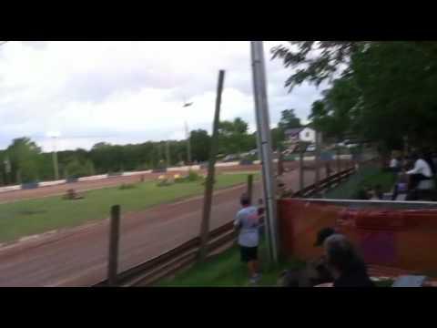 Starlite speedway (heavy class) Heat race!
