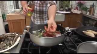 Jamie Oliver live - fish stew