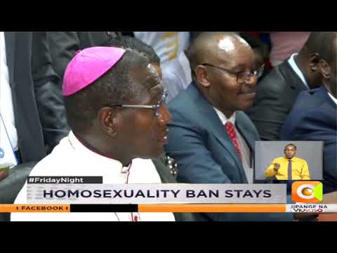 Court uphold law on homosexuality