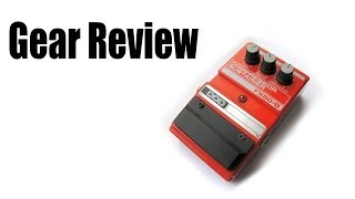 DOD FX80-B Compressor Sustainer Guitar Pedal Review