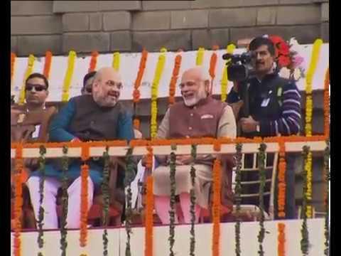 Himachal Pradesh में CM Jairam Thakur ने 10 मंत्रियों के साथ ली शपथ, PM Modi समेत ये नेता रहे मौजूद