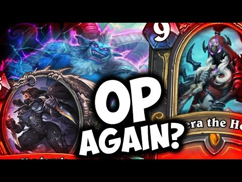THE WITCHWOOD MADE QUEST ROGUE OP AGAIN? | VALEERA THE HOLOW | HEARTHSTONE | DISGUISED TOAST