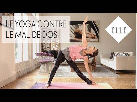 Le yoga contre le mal de dos┃ ELLE YOGA