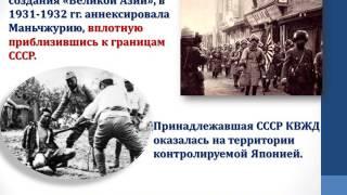 "Презентация к уроку истории: ""Внешняя политика СССР в 30 - х гг."""