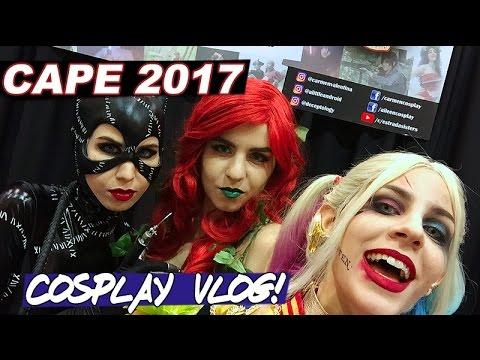 CAPE 2017 - Cosplay guests vlog [Friday/Saturday]