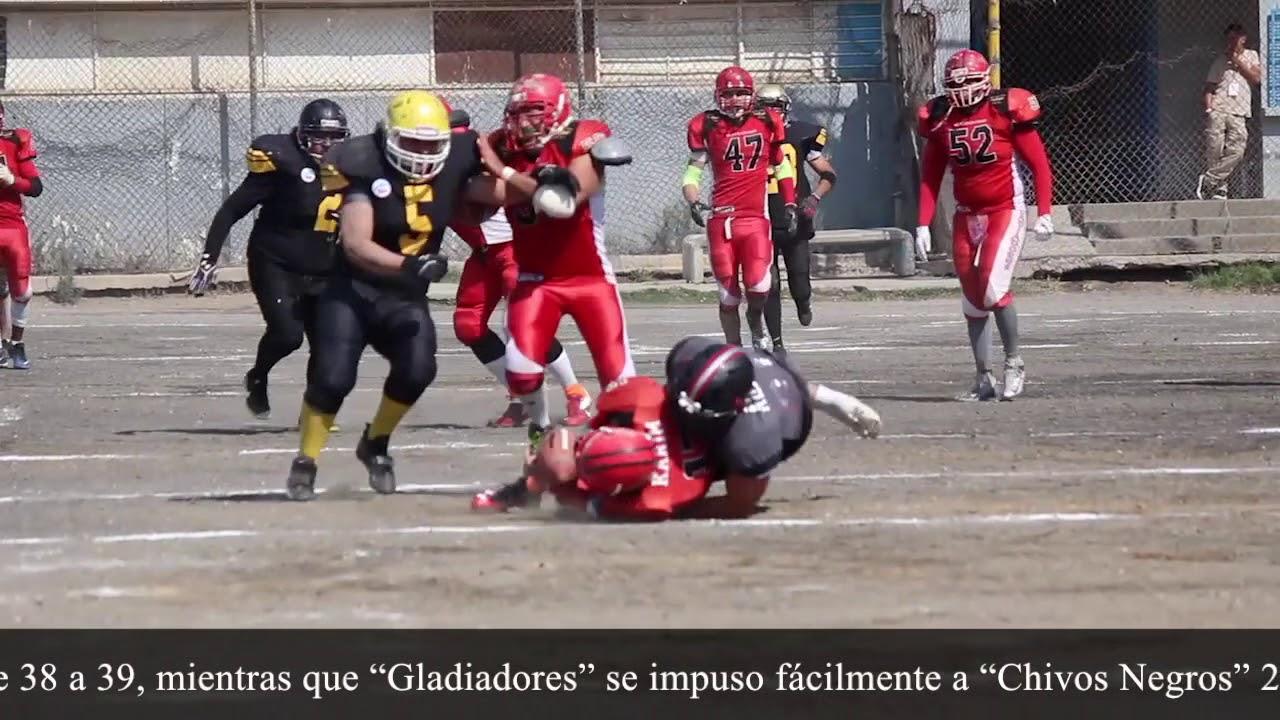 Perros y Gladiadores disputan campeonatos de futbol americano desde la  cárcel c1e025683855c