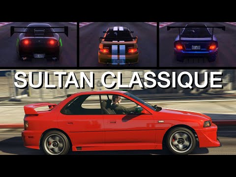 Karin Sultan Classique - Customisation et performance - GTA Online