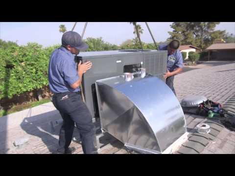 Roof mounted AC (Package Unit) vs Split System