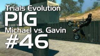 Trials Evolution - Achievement PIG #46 (MIchael vs. Gavin)  Rooster Teeth