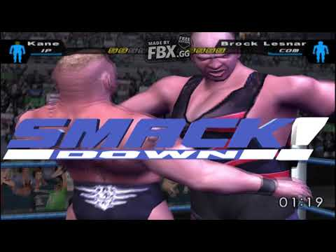 WWE Here Comes The Pain! Kane Vs Brock Lesnar