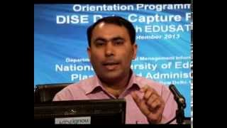 Discussion on DISE Data Capture Format: Shri Naveen Bhatia, Part III (English)