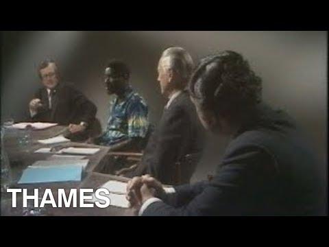 Idi Amin - Uganda - Studio debate - 1974