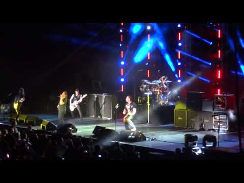 Creed - Wrong Way & What If Live @ Puerto Rico 12-08-2012