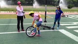 외발자전거 unicycle 대구팔공클럽 초4 장지원양 수평타기연습