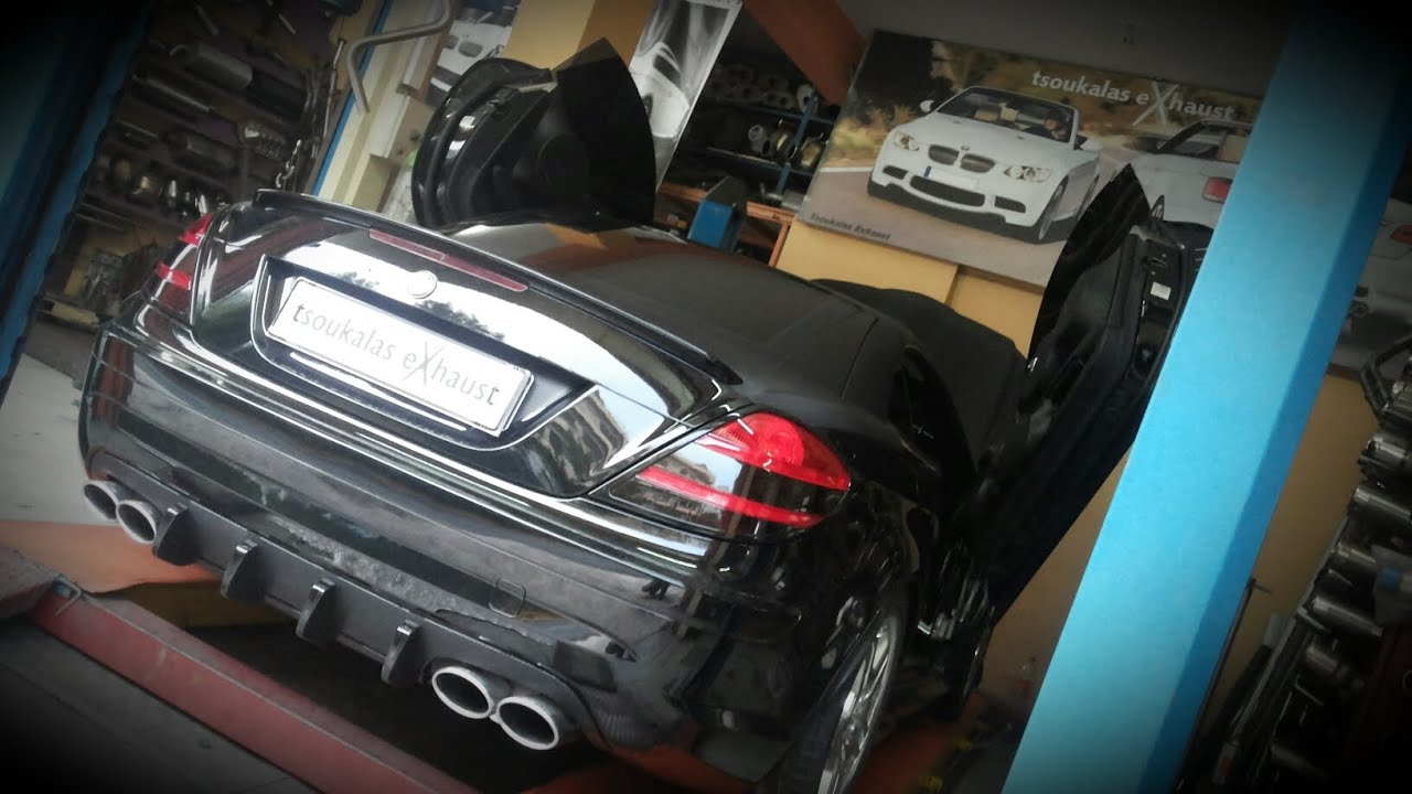 Mercedes Slk Performance Exhaust