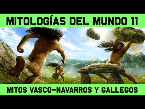 MITOS Y LEYENDAS 11: Mitología vasca, navarra, gallega, asturiana y cántabra