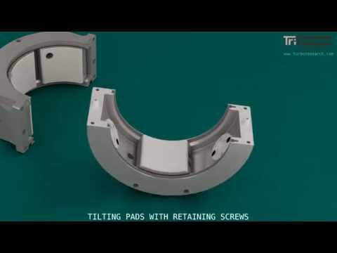 Tilt Pad Bearing Assembly