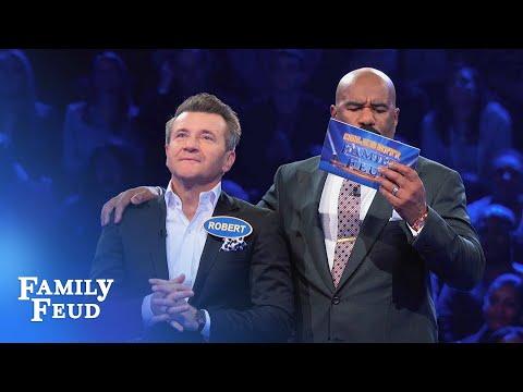 Shark Tank Fast Money! | Celebrity Family Feud