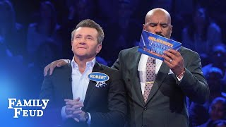 Shark Tank Fast Money! | Celebrity Family Feud