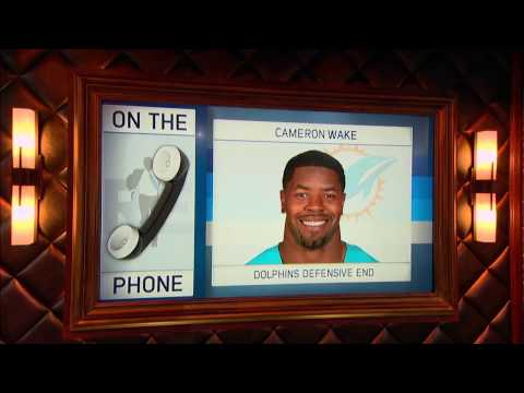 Miami Dolphins DE Cameron Wake on Respect & Trash Talk in The NFL - 11/29/16