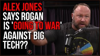Alex Jones Says Joe Rogan's Going To War Over Censorship, Rogan Calls Tim To Clear Up Fake News