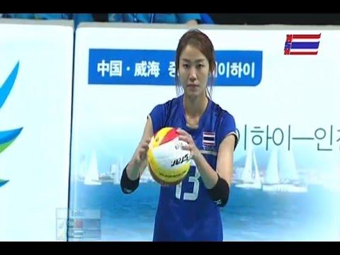 ไทย-จีน :วอลเลย์บอลหญิงเอเชี่ยนเกมส์ 2014: 30.9.2014
