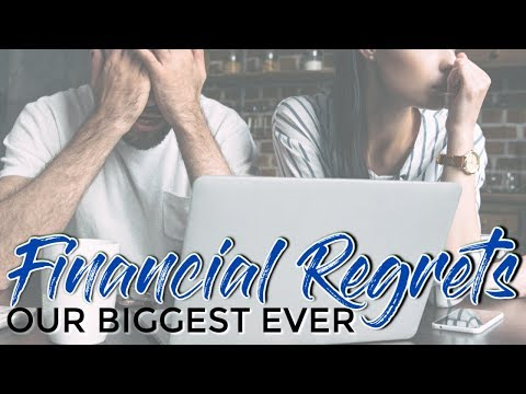Our 5 Worst Financial Mistakes