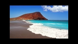 DRONE FILM Mallorca & Canary Islands +Spa Music 1HOUR  Aerial Ambient Film