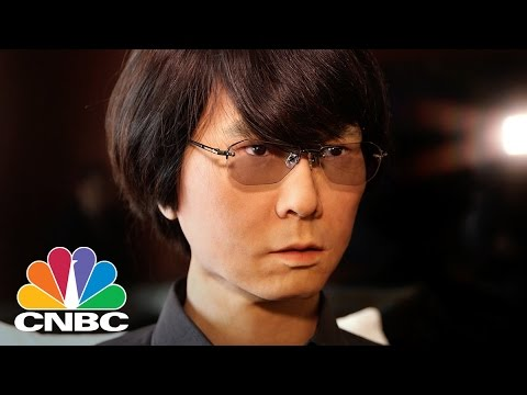 Robot Mistaken For A Real Human | CNBC