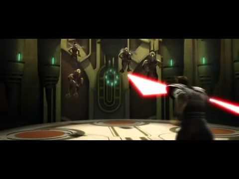 Savage Opress vs Anakin and Obi-Wan
