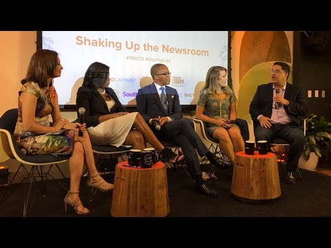 "Voto Latino's 2017 Our Voices Panel: ""Shaking Up The Newsroom"""