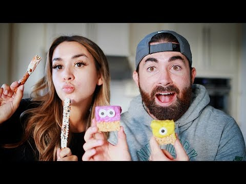 Download Youtube: BAKE EASY & CUTE HALLOWEEN TREATS WITH US! | ALEX AND MICHAEL