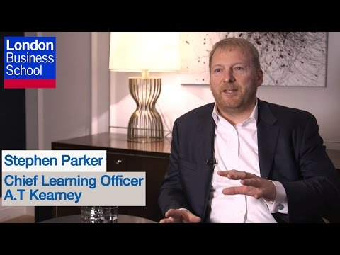 Insights from Stephen Parker, Chief Learning Officer, A.T. Kearney