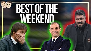 Inter REMAIN Unbeaten, Gattuso gets his first win & is Conte losing the plot at Chelsea???