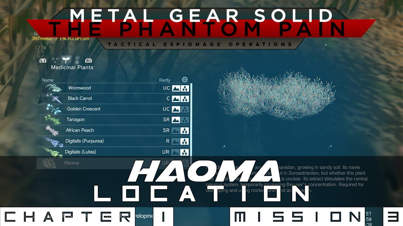 mgs5 haoma