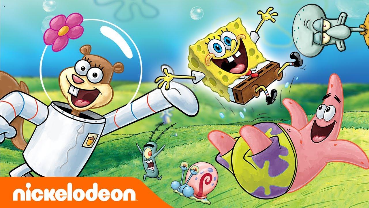 Губка Боб Квадратные Штаны | Первое появление Губки Боба и его друзей | Nickelodeon Россия