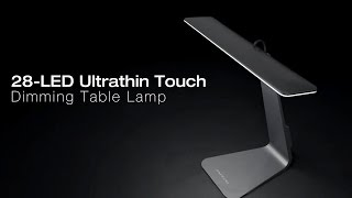 Smart Touch LED Table Lamp обзор.  Умная настольная лампа Smart Touch LED