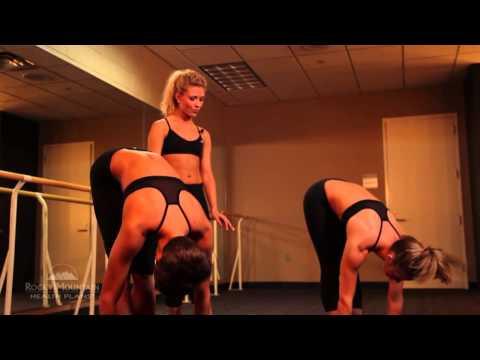 Denver Broncos Cheerleader Yoga Workout