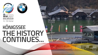 KÖnigssee hosts the Worlds for the sixth time | BMW IBSF World Championships 2017