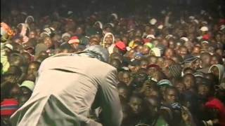 "Redsan performs ""Unbreakable"" at Safaricom KENYA LIVE Eldoret Concert"