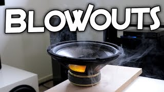 SPEAKER/SUBWOOFER BLOWOUTS!! (25,000 Subscriber Special)