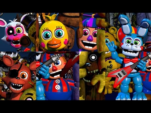 BB AND FOXY REACT TO: FNAF World and Mangle's gender confirmed!