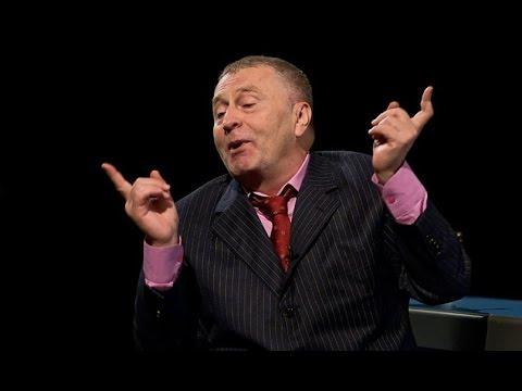 Смотреть Жириновский. Скандал на теледебатах. онлайн