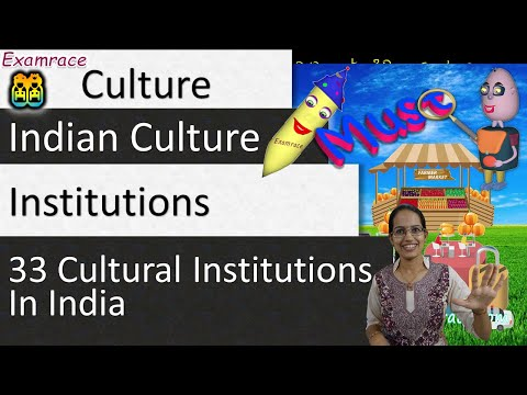 33 Cultural Institutions In India: IAS Mains GS Paper 1