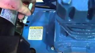 jenny compressor video h belt tensioning part 1 avi